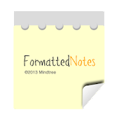 Formatted Notes(Notes,Notepad)