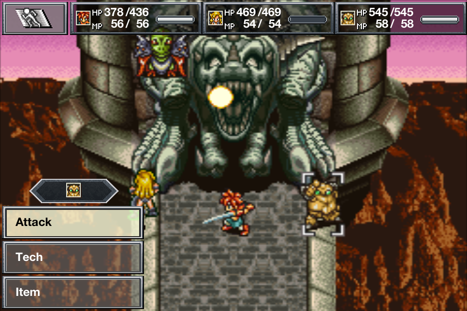 CHRONO TRIGGER - screenshot