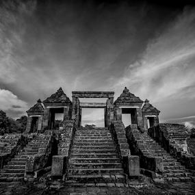 by Erry Subhan - Buildings & Architecture Public & Historical ( ratu boko, ancient, yogyakarta, indonesia, asia, stone, java, tourism, travel, palace, world heritage )