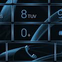 Dialer MetalGate Azure theme