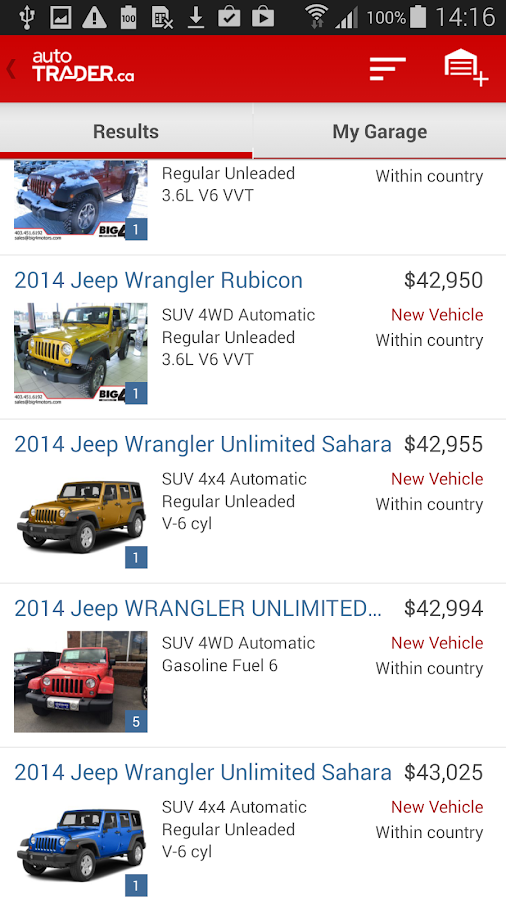 autoTRADER.ca - Auto Trader- screenshot
