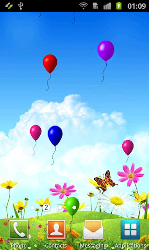 Colorful and magical android screen saver themes free fill your life with vibrant colours by downloading this colourful balloons hd live wallpaper for free colourful balloons live wallpaper in high voltagebd Images