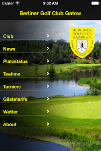 Berliner Golf Club Gatow e.V.- screenshot thumbnail