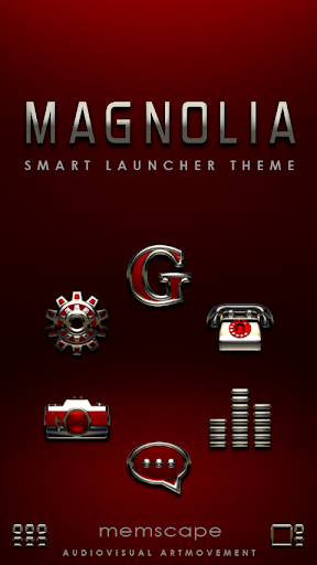 Smart Launcher Theme MAGNOLIA