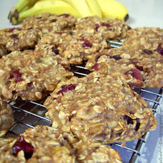 Banana Oat Breakfast Cookies.