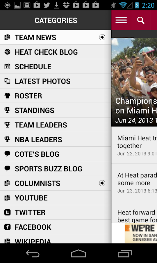 Heat Basketball - screenshot
