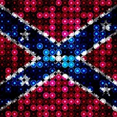 LED Rebel Flag Live Wallpaper