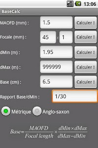 BaseCalc screenshot 1