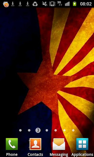 Arizona Flag Live Wallpaper