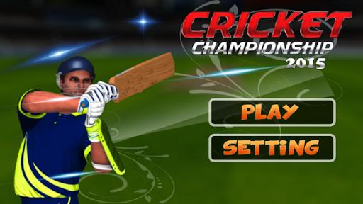 Cricket Championship 2015