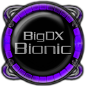 Bionic Launcher Theme Purple