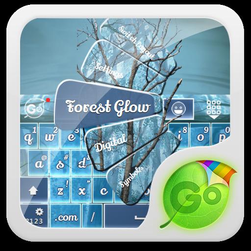 森林輝光 GO Keyboard LOGO-APP點子