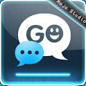 blue Fusion GO SMS Pro logo