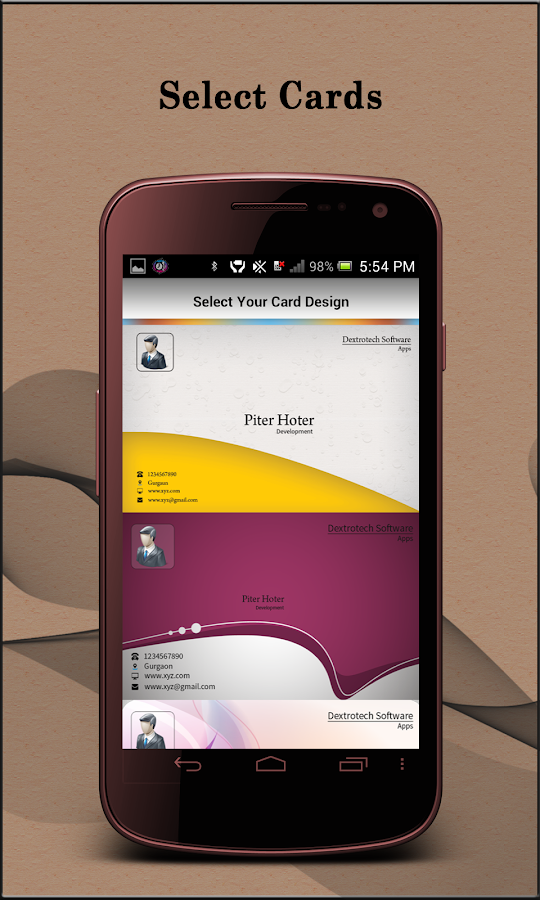 Visiting Card Organizer Pro - Android Apps on Google Play