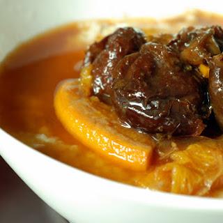 Cinnamon-Orange Stewed Prunes.