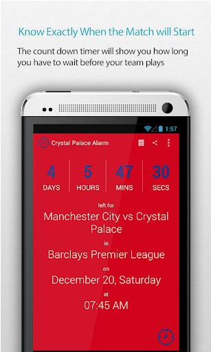 Crystal Palace Alarm