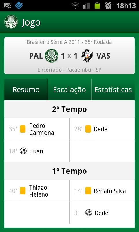 Palmeiras SporTV - screenshot