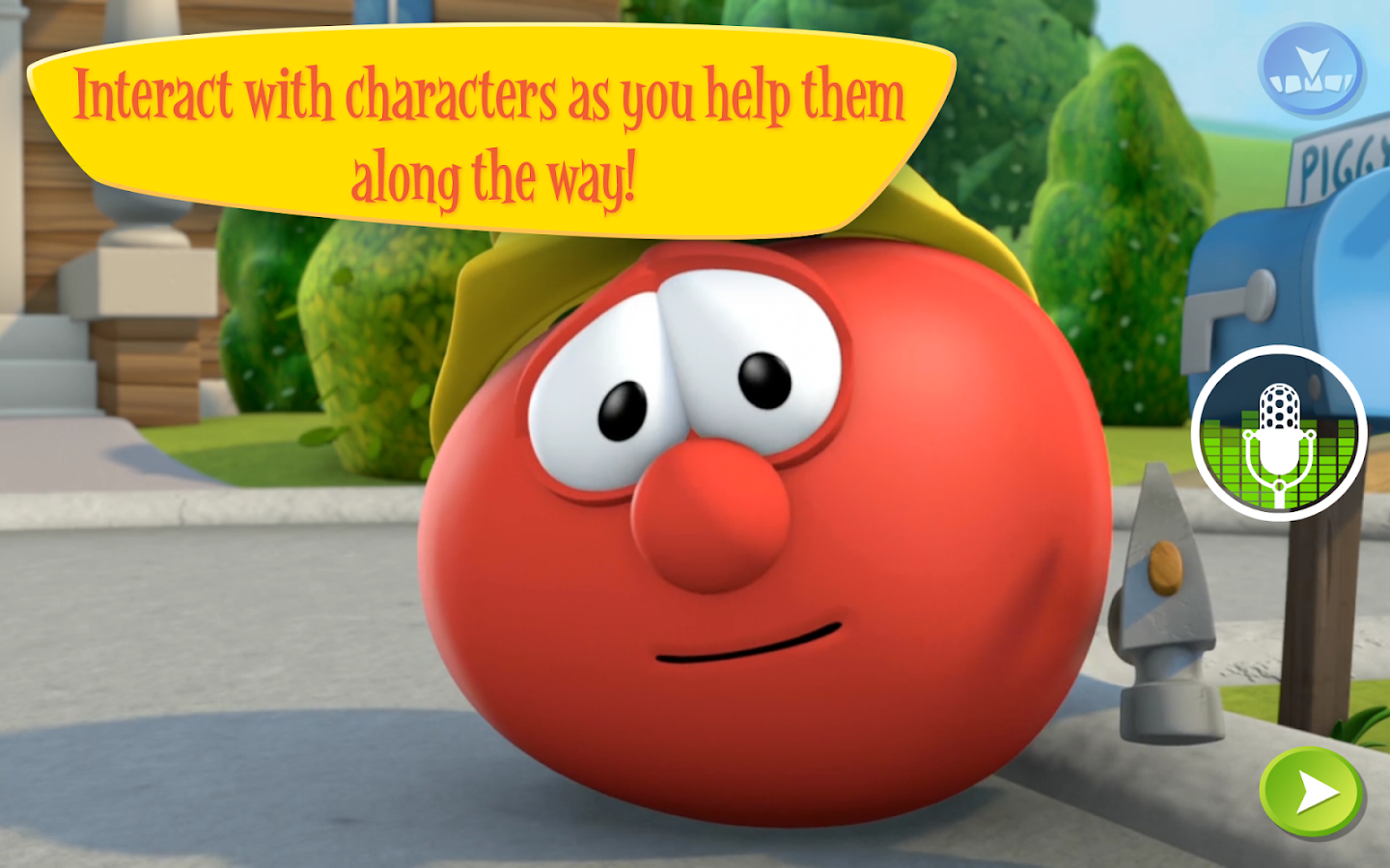 VeggieTales Appisode - screenshot