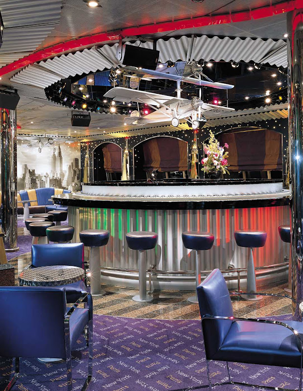 The Lindy Hop Piano Bar aboard Carnival Valor channels the carefree innocence and fun of yesteryear.