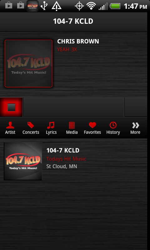 104.7 KCLD - screenshot