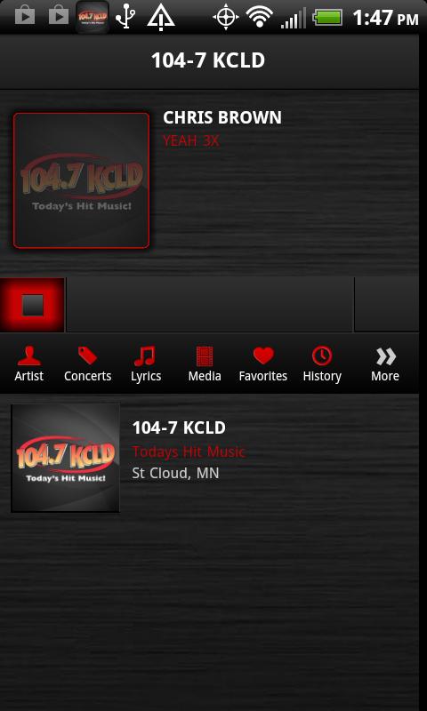 104.7 KCLD - screenshot