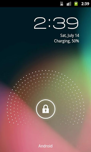 Holo Locker: lockscreen di Jelly Bean per tutti i dispositivi