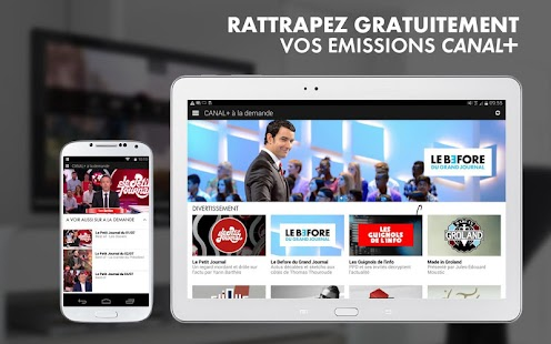 myCANAL Réunion, par CANAL+ - screenshot thumbnail