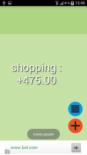 easyBudget - Budget facile
