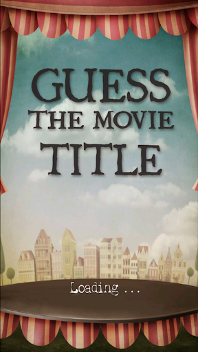 Guess the Movie Title