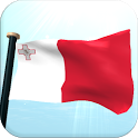 Malta Flag 3D Free Wallpaper icon