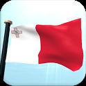 Malta Flag 3D Free Wallpaper icon