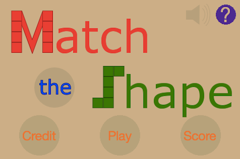 Match The Shape