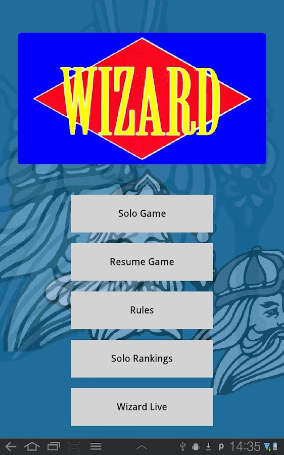 Wizard Cards Live- screenshot