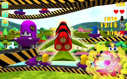 【免費休閒App】遊樂場射擊3D-APP點子