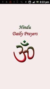 Hindu Daily Prayers Free