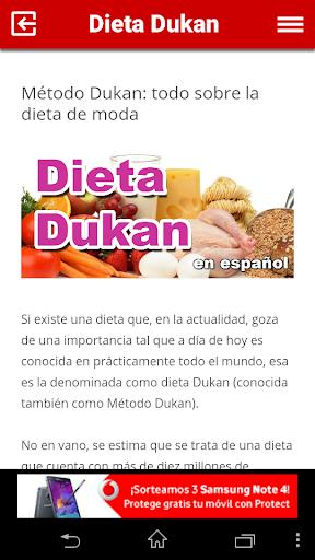 Dieta Dukan en español
