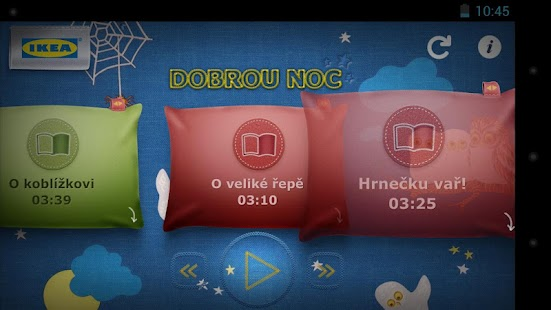 IKEA Dobrou noc - screenshot thumbnail