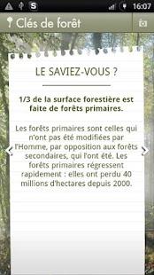 Clés de forêt- screenshot thumbnail