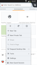 FlashFox - Flash Browser Screenshot 1