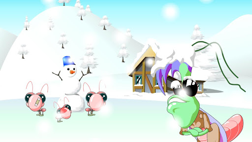 헬로키드8-It's snowing.