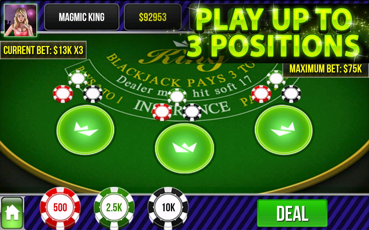 Blackjack King - screenshot