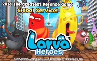 Screenshot of Larva Heroes: Lavengers 2014