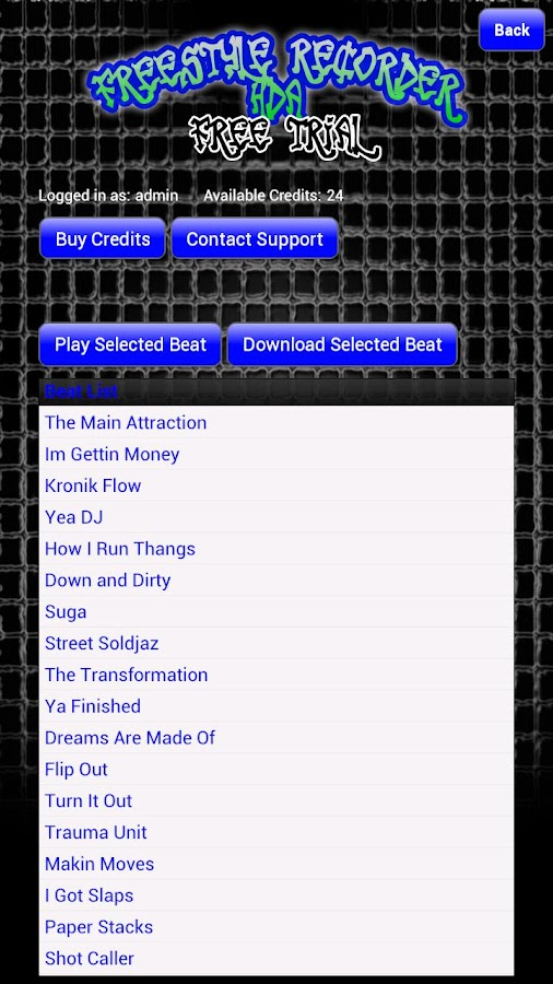 FreeStyle Recorder HDA FREE- screenshot