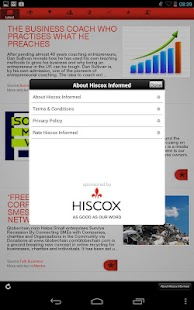 Hiscox Informed - screenshot thumbnail