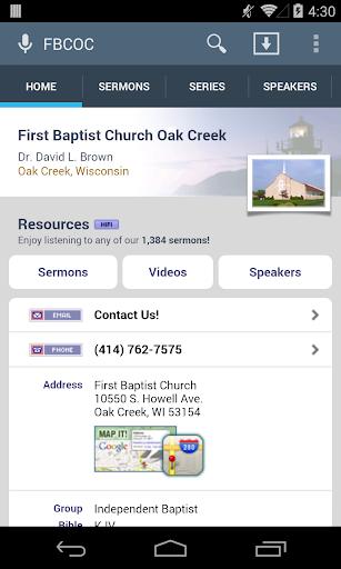 First Baptist Church Oak Creek