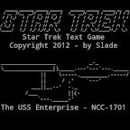 Star Trek Text Game