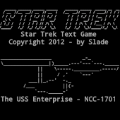 Star Trek Text Game