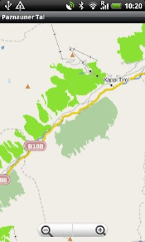Paznauer Tal Street Map
