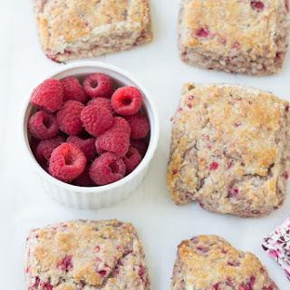 Whole-Wheat Raspberry Ricotta Scones