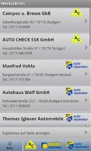 Werkstattfinder- screenshot thumbnail